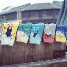 cartoonsock, solarsystem, Calcetines, for girls