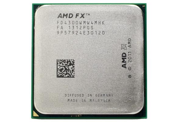 Amd Fx 4300 3 8 Ghz Quad Core Processor Socket Am3 32nm Cpu Bulk Package Fx 4300 938pin Wish