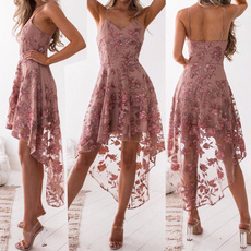 Summer, Fashion, Lace, Dress