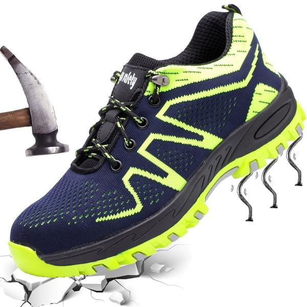Chaussures De Sécurité Des Hommes De Femmes Chaussures De Travail En Acier Respirant Toe Walking Chaussures Traill Bottes Pour L'été