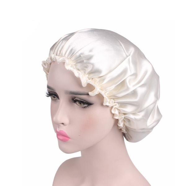 hot-vente authentique acheter mieux plus grand choix de 2019 ( ) Bonnet de Nuit Turban Foulard Islamique en Satin Femme Chapeau Doux