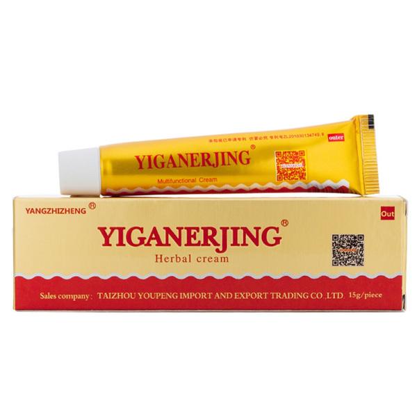 Natural Chinese Herbal Medicine Cream Eczema Dermatitis Psoriasis Vitiligo  Antibacterial Skin Disease Treatment Yiganer