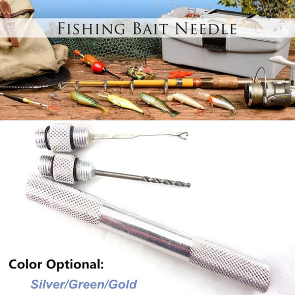 Multiple Function Fishing Kit Tool Loading Device Carp For Needle Baiting Tool