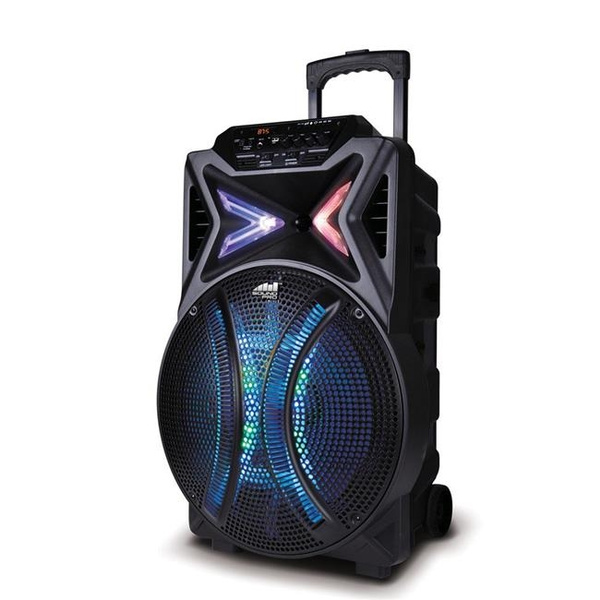 Naxa NDS-1510 4000 watt Wireless Portable Karaoke Speaker