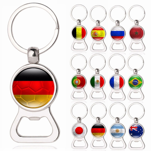 WM 2018 Fußball Flaschenöffner Schlüsselanhänger Fanartikel Liebe Souvenir neu