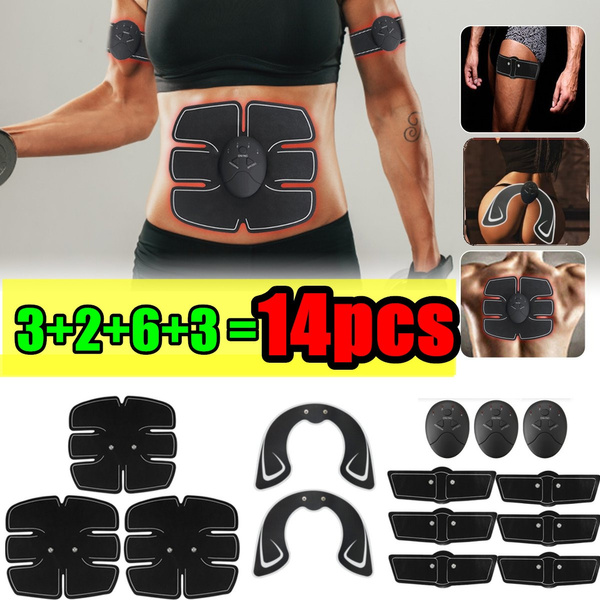 Smart EMS ABS Muscle Training Hip Trainer Buttocks Stimulator Body Shape Fitness