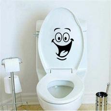 smileyface, toilet, Bathroom, art