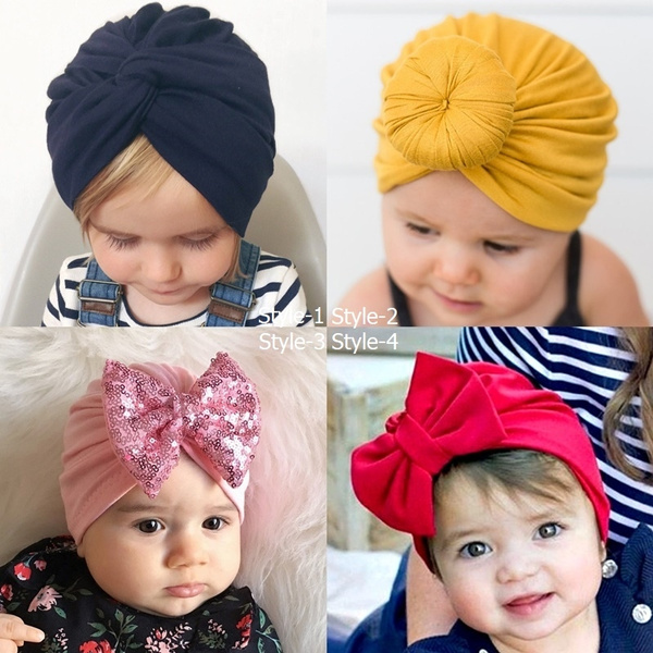 Baby, Head, Fashion, turban