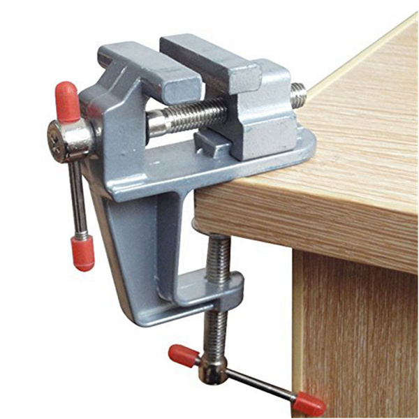 Groovy 3 5 Inch Mini Table Vice Craft Bench Vise Work Portable Bench Clamp Lock Aluminum Miniature For Hobby Craft Jewelry Olive Walnut Model Garage Craft Pdpeps Interior Chair Design Pdpepsorg