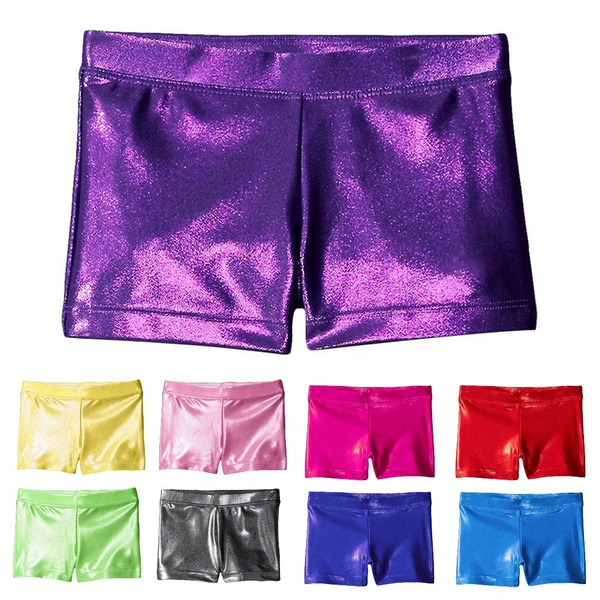 Little Girls Stretch Spandex Gymnastics Ballet Dance Shorts Girls'  Gymnastics