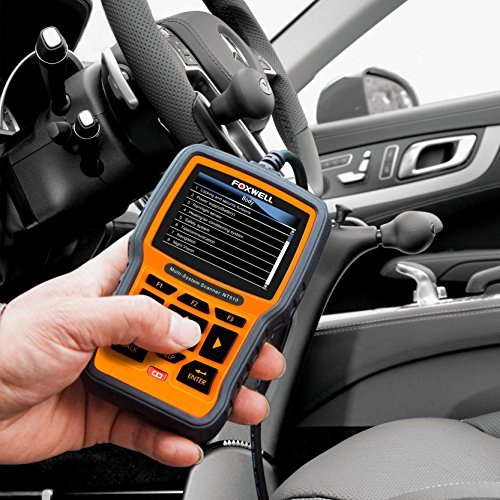 FOXWELL NT510 Automotive Scanner BMW OBD II Obd2 Code Reader,  ABS/SRS/EPB/Transmission Diagnostic Scan Tools with OIL Service Reset, ABS  Reset Service