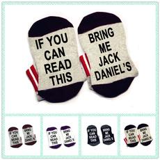 ifyoucanreadthi, Cotton Socks, Elastic, unisexsock