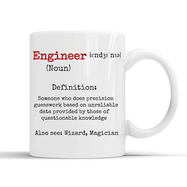 engineer gifts, FUNNY DEFINITION