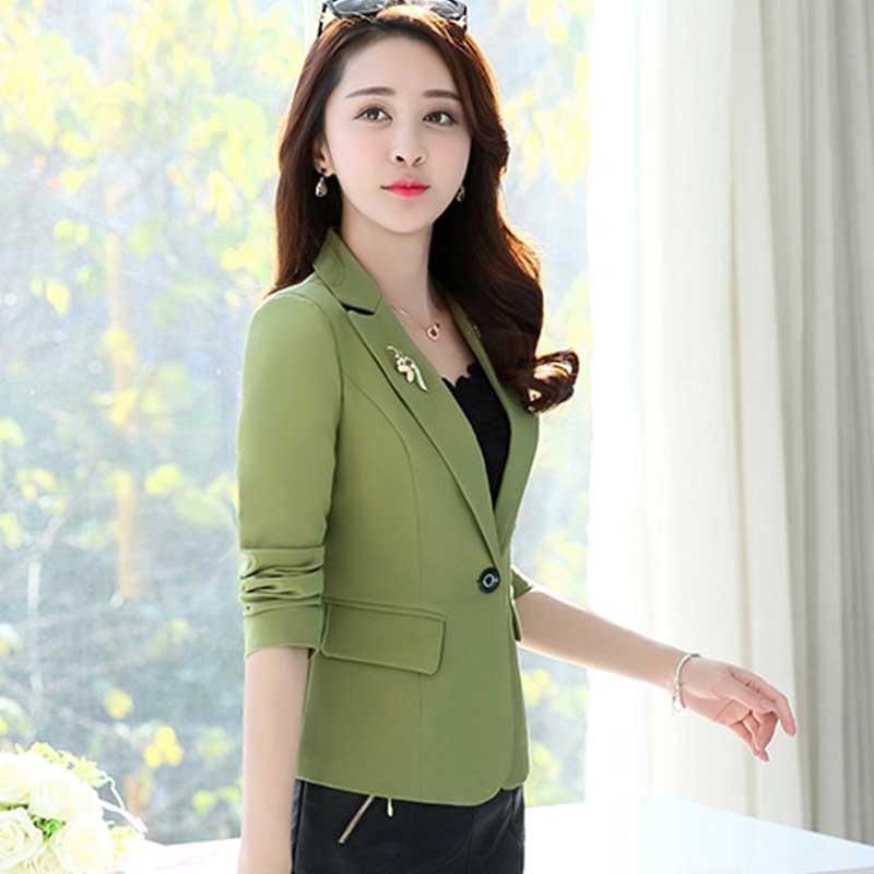 Back To Search Resultswomen's Clothing Blazers Careful Women Office Suit Jackets Coat Slim Short Design Long Sleeve Ladies Blazer Girls Work Wear Jacket Clothing Wine Gray Blue