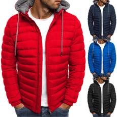 mencottonhoodie, chaquetasdeinvierno, Coat, Winter