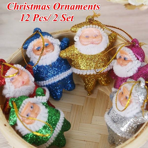 decoration, Decor, multicolorsantaclau, Christmas