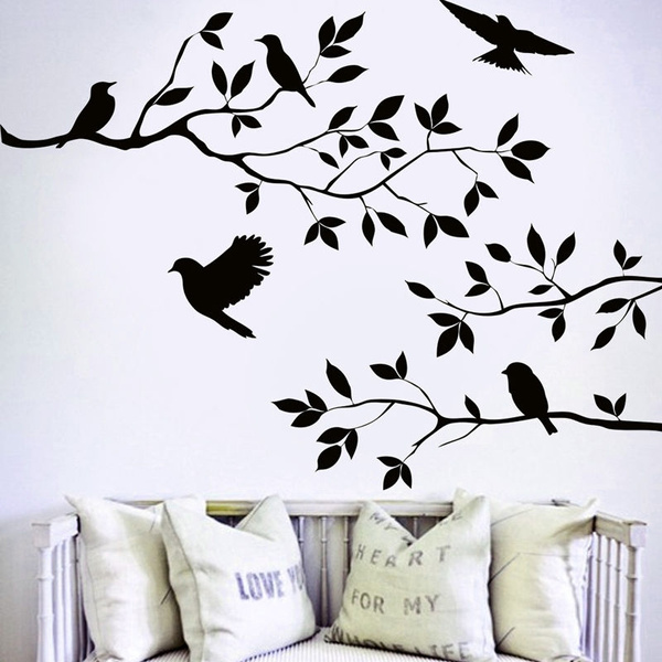 decoration, Home & Living, Wall Decal, Tree
