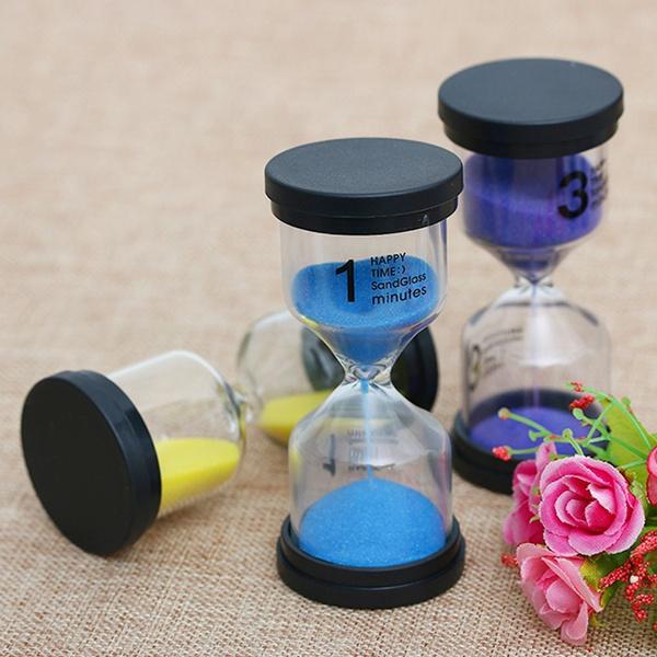 Desktop Colorful Sandglass Brush Teeth Clock Toothbrush Shower Timer Hourglass