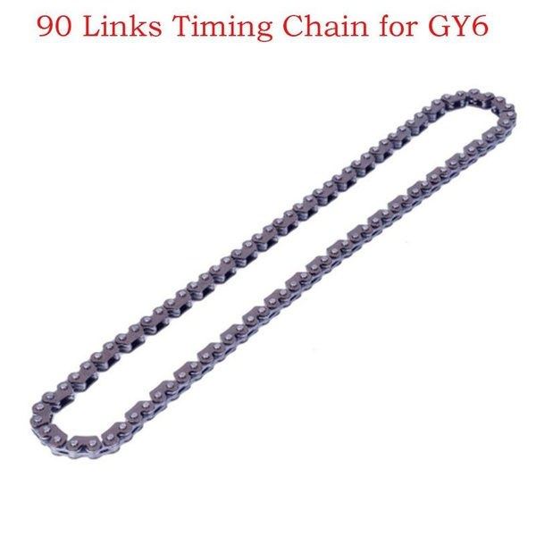 90 Links Timing Chain for GY6 125cc-150cc ATV Go Kart Moped & Scooter