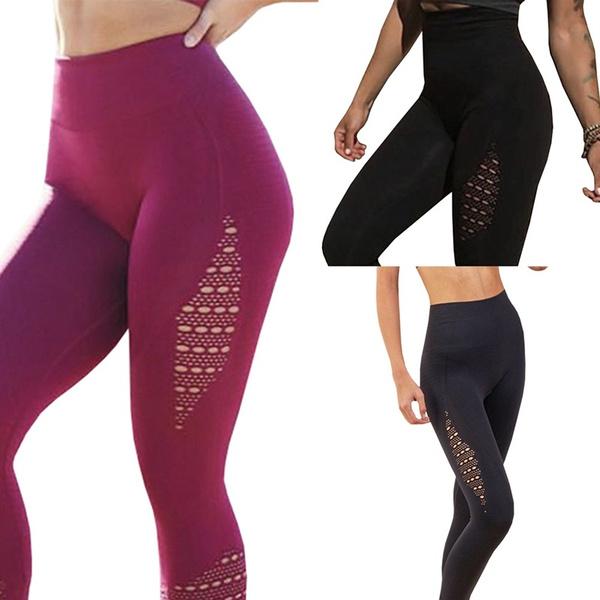 e71693a879 2018 New Fashion Women Sexy High Waist Super Stretchy Gym Legging ...