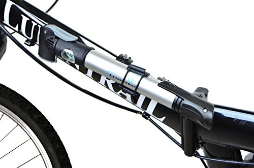 Wish   Lumintrail Mini Bike Pump with Gauge and Glueless Puncture ...