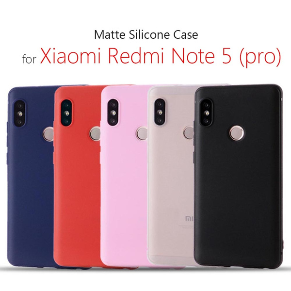 quality design 9234e 2b1ed Xiaomi redmi note 5 case silicone cover 5.99