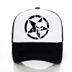 Summer, punisher, Outdoor, Hip-Hop Hat