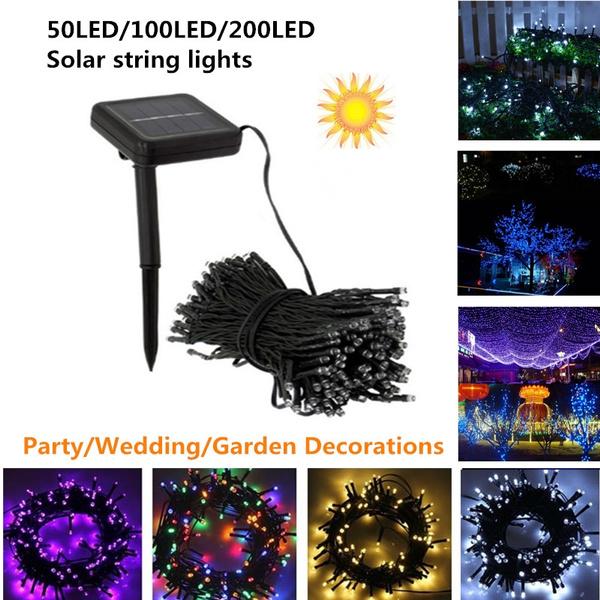 led, Garden, fairylight, solarstringlight