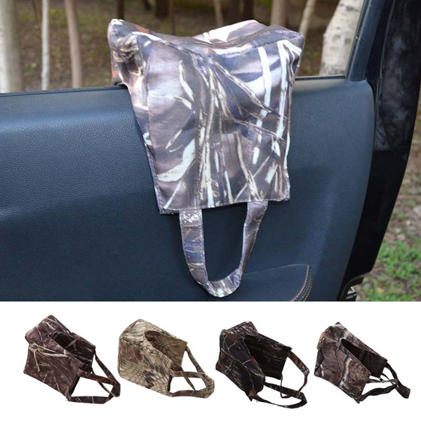 Groovy Camouflage Shooting Sand Front Rear Rifle Target Rest Bag Hunting Gun Support Sandbag Camera Bean Bag Creativecarmelina Interior Chair Design Creativecarmelinacom