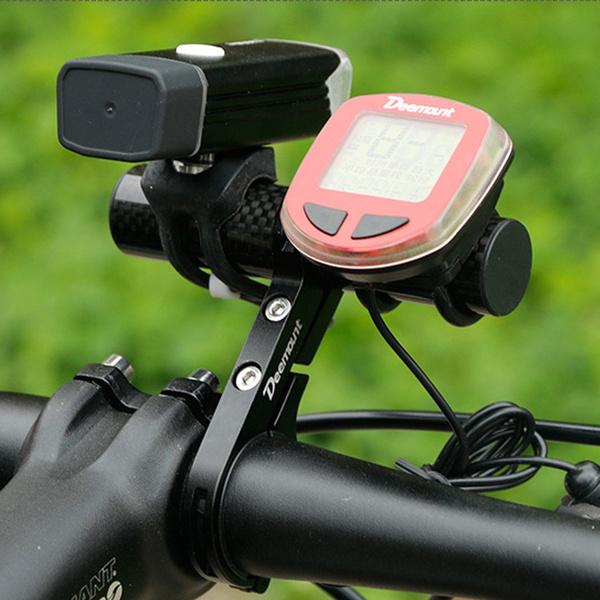 Bike Flashlight Holder Handle Bar Cycling Accessories Extender Mount Bracket