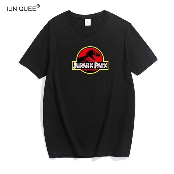 Funny Jurassic Park T Shirt Men Women Novelty Anniversary Jurassic