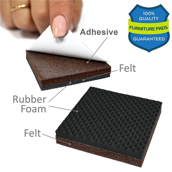 Bon Wish | Best Non Slip Furniture Pad Furniture Grippers Rubber Feet Furniture  Hardwood Floor Protectors For Keep In Place Furniture U0026 Furniture Stoppers
