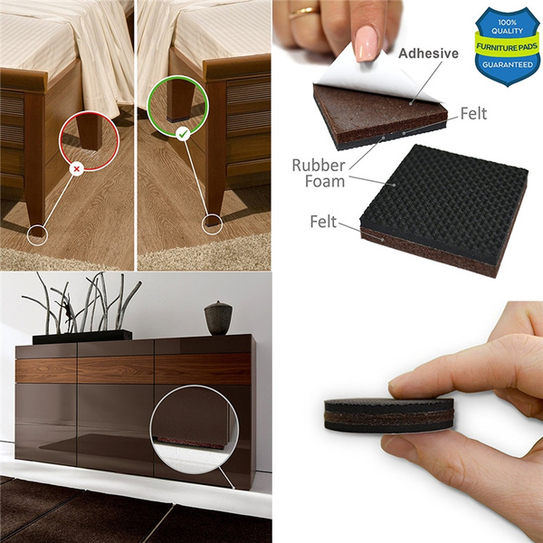 Pad Furniture Grippers Rubber Feet