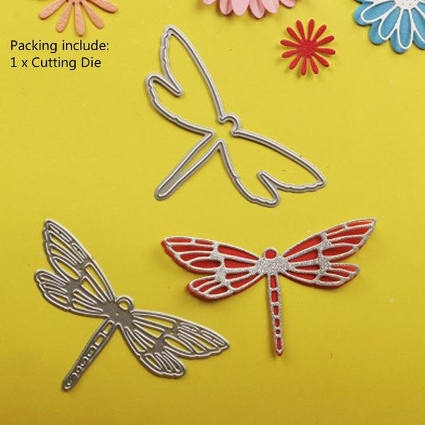 1x dragonfly series Metal Cut Dies DIY Scrapbooking Embossing Paper Card S!