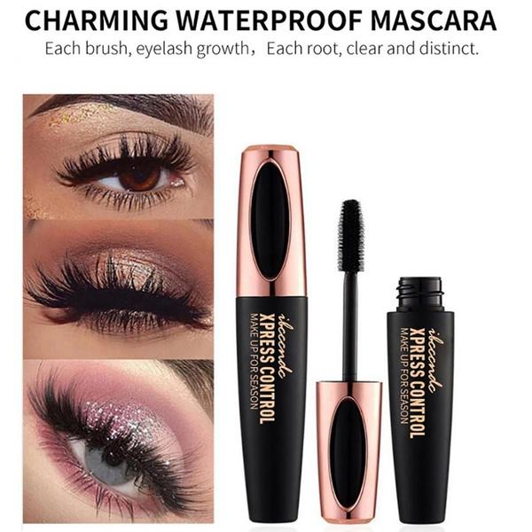 b94016c336e 4d Silk Fiber Lash Mascara Long Curling Mascara Makeup Eyelash Black ...