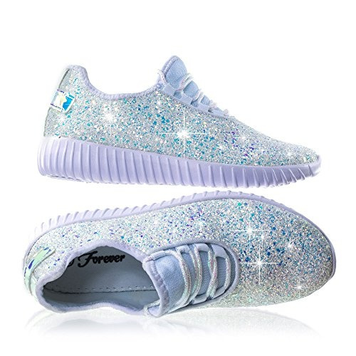 84697c4ea6b6 Forever Link Women's Remy-18 Glitter Sneakers | Fashion Sneakers ...