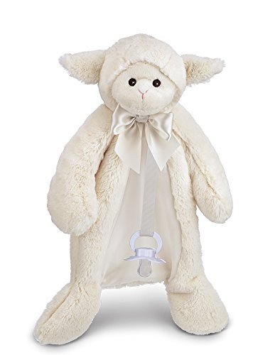 Wish Bearington Baby Lamby Pacifier Pet White Lamb Plush Stuffed