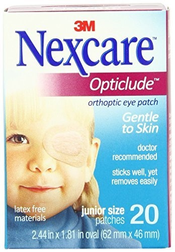 Nexcare Opticlude Orthoptic Eye Patches Regular 20 Each (Pack of 2) 4 Pack - Rugby Acne Medication Gel Benzoyl Peroxide 10% 1.5 oz