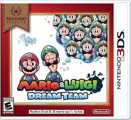 Nintendo 3ds Mario Luigi Dream Team