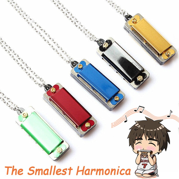 Mini, 4hole8toneharmonica, miniharmonica, Jewelry