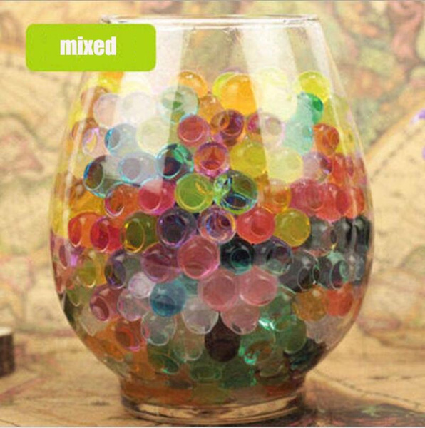 Wish 24000pcs Water Beads Crystal Water Gel Bead Vase Filler Kids