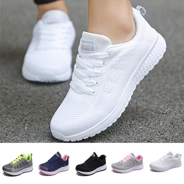 Fashion Men Women Casual Sports Shoes Mesh Breathable Sneakers Men & Women Outdoor Tennis Shoes
