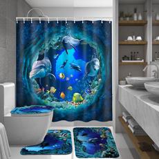 Blues, Bathroom, Bathroom Accessories, Waterproof