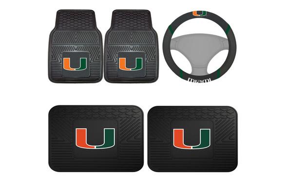 Miami Hurricanes NCAA Steering Wheel Cover NCAA