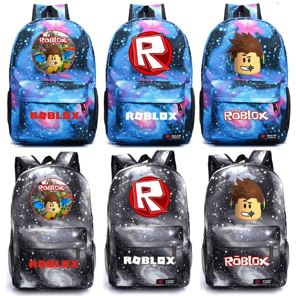 Roblox backpack student school bag leisure daily backpack galaxy backpack  roblox shoulder bags