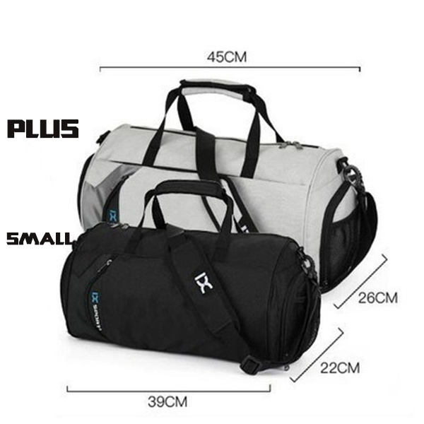 c3c9c21ed0 ... Women and Men  Wish Light Weight Fitness Sport Small Gym Bag with Shoes  Compartment Waterproof Travel Duffel Bag for ...