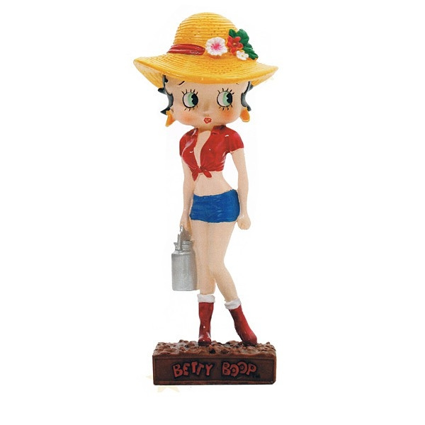 Collection N°16 Figurine Betty Boop Fermière