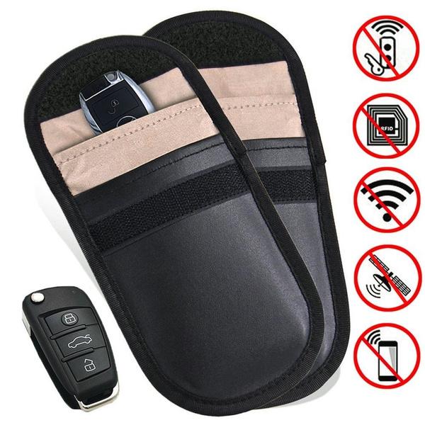 4e6dd9aa1177 Faraday Cage Shield Car Key Fob Signal Blocking Pouch Bag, Faraday Bag Rfid  Key Fob, Fob Guard Keyless Entry Remote Rfid, Antitheft Lock Devices, Car  ...