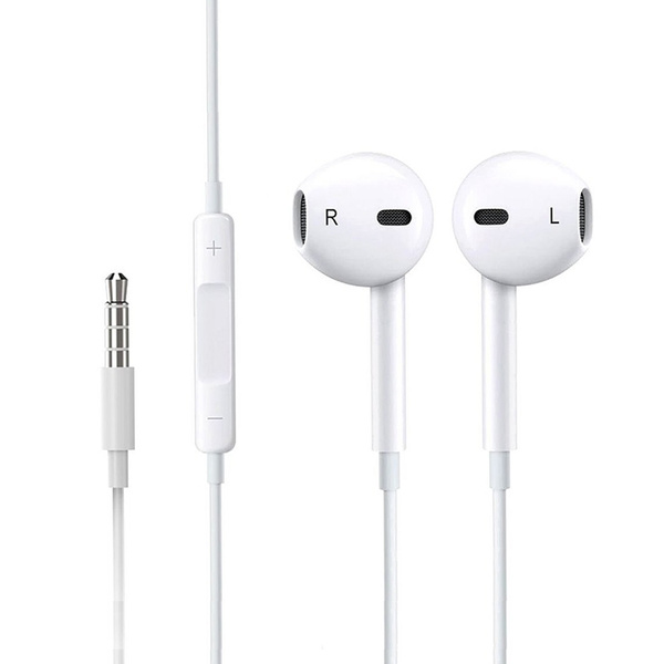 Oem Earpods Earphones Earbuds Headphones With Stereo Mic Remote Control For Apple Iphone Ipad Ipod Samsung Galaxy And More Android Smartphones Compatible With 3 5 Mm Headphone Wish