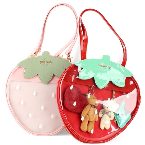 Shoulder Bags, strawberrybag, Bags, Sweets